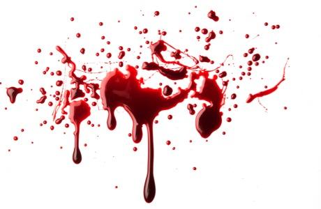 bloed spatten