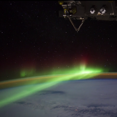 time-lapse video aarde vanuit ISS