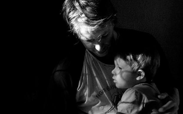 Gods vader liefde met vaderdag