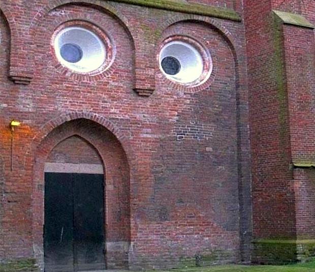 verbaasde kerk