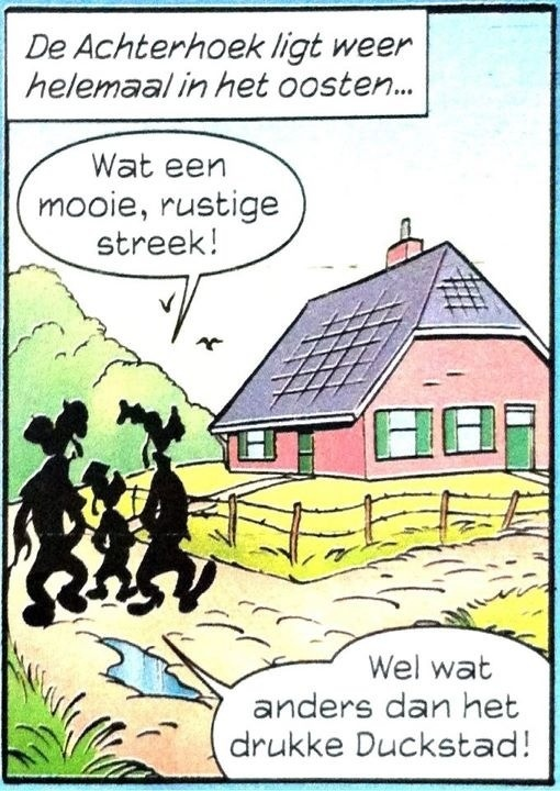 De Achterhoek in de Donald Duck