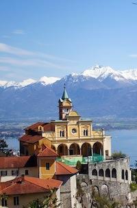 Madonna del Sasso Zwitserland
