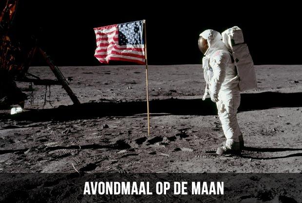 Avondmaal op de maan