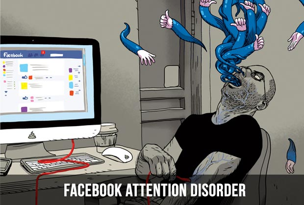 facebook attention disorder