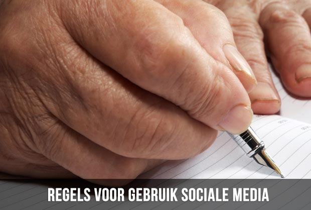 regels voor gebruik sociale media