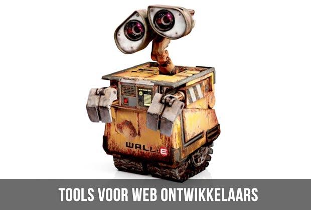 tools voor webontwikkelaars