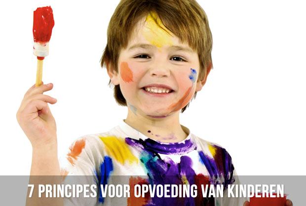 7 principes voor opvoeding van kinderen