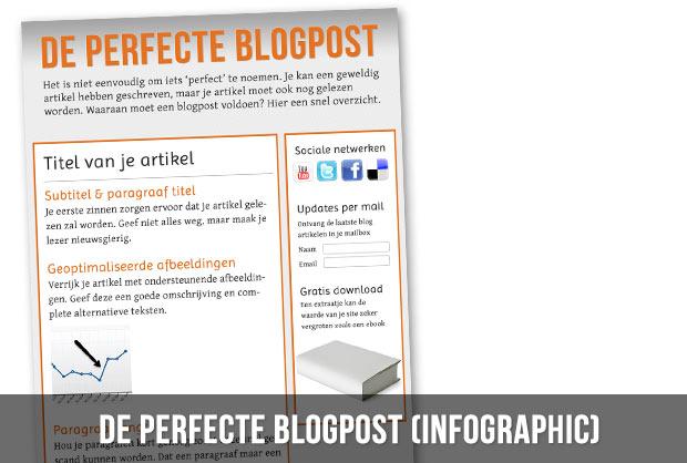De perfecte blogpost