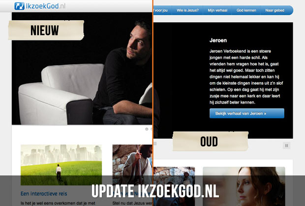 update ikzoekgod.nl