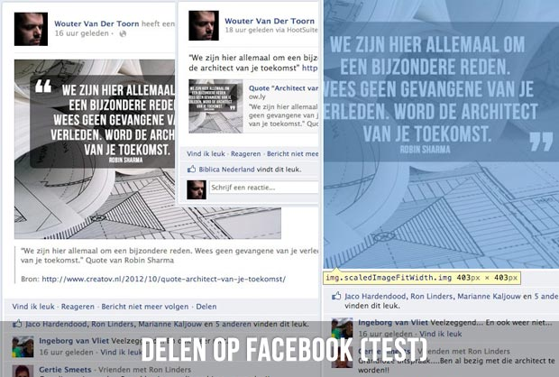 Delen op Facebook (test)