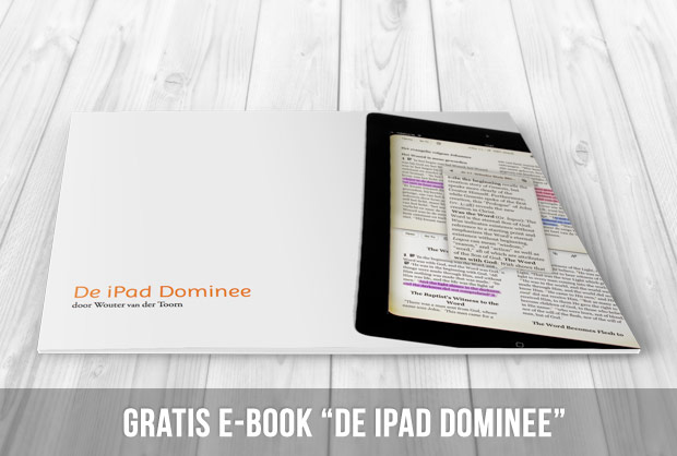 "Gratis e-book ""De iPad dominee"""
