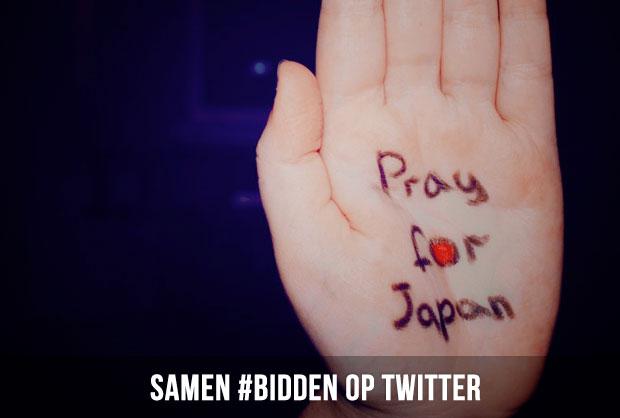 Samen bidden op Twitter