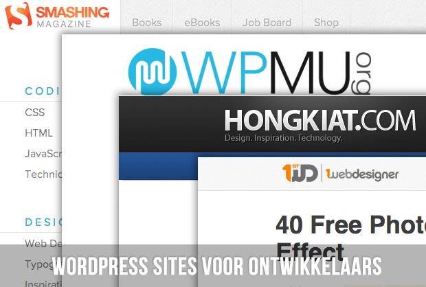 WordPress sites voor ontwikkelaars