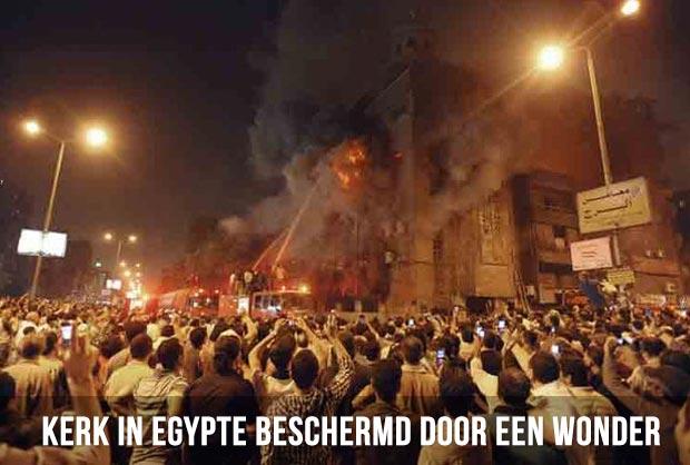 Kerk in Egypte beschermd door een wonder