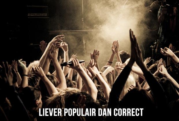 Evangelische jongeren liever populair dan correct