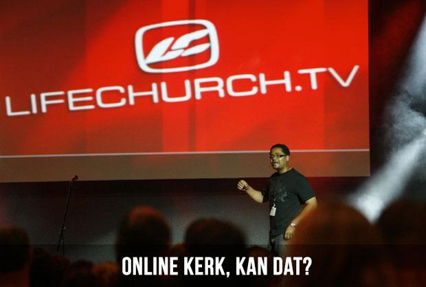 Online kerk, kan dat?
