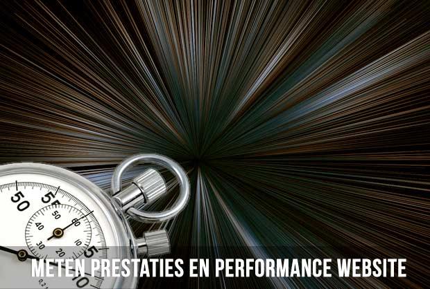 Meten prestaties en performance website