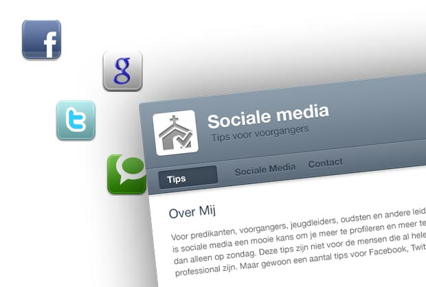 sociale media tips voorgangers