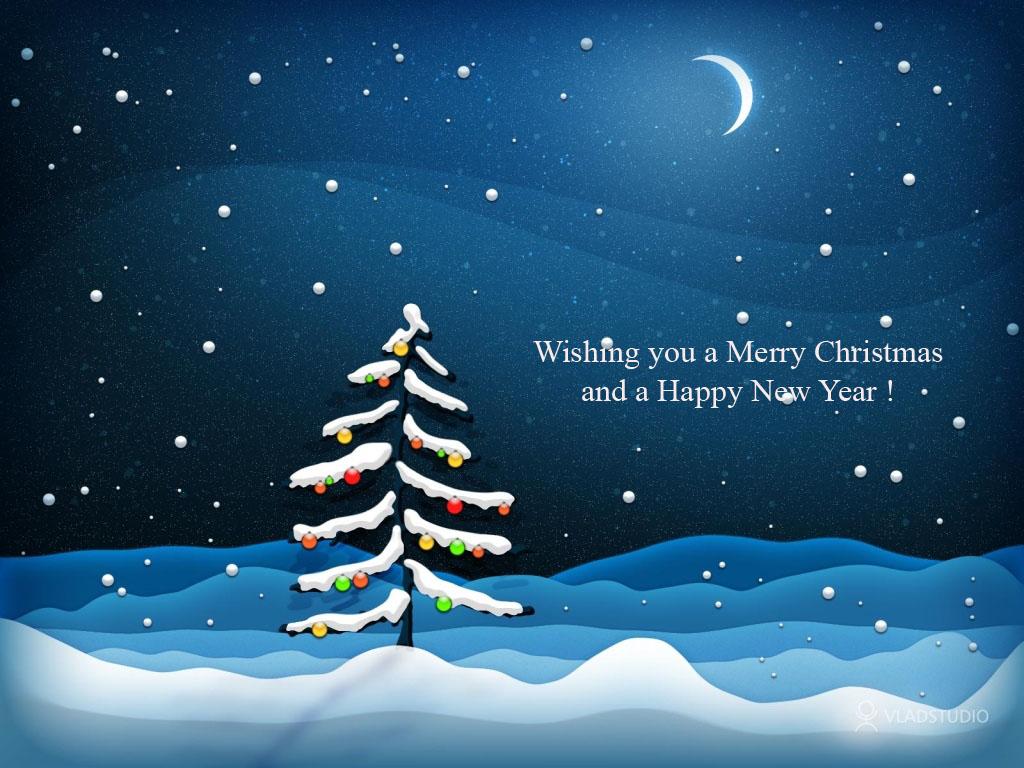 Prettige kerstdagen en mooi nieuwjaar gewenst