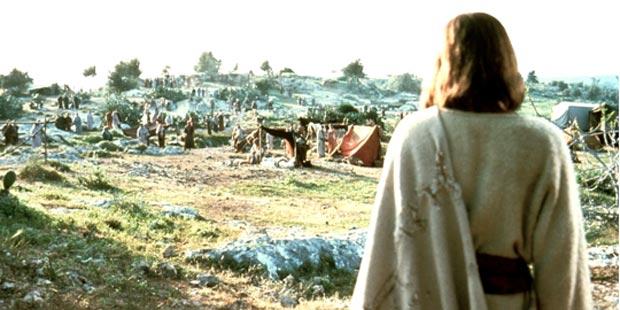 jezus scene heuvels