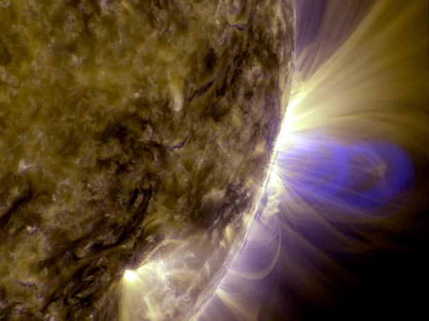 Magnetische velden bij onze zon