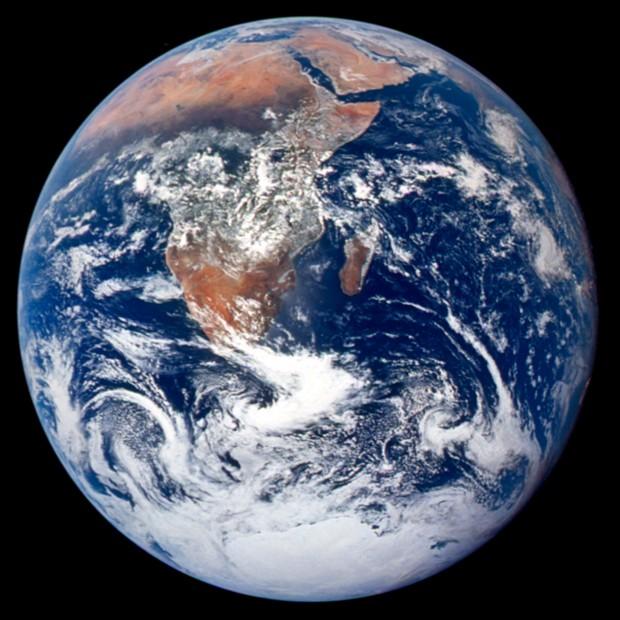 De Blauwe Planeet, genomen uit Apollo 17