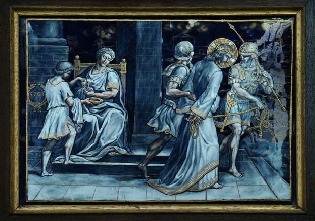 1: Jezus is veroordeeld tot de dood aan het kruis