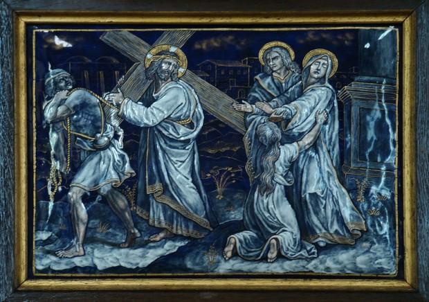 4. Jezus ontmoet zijn moeder