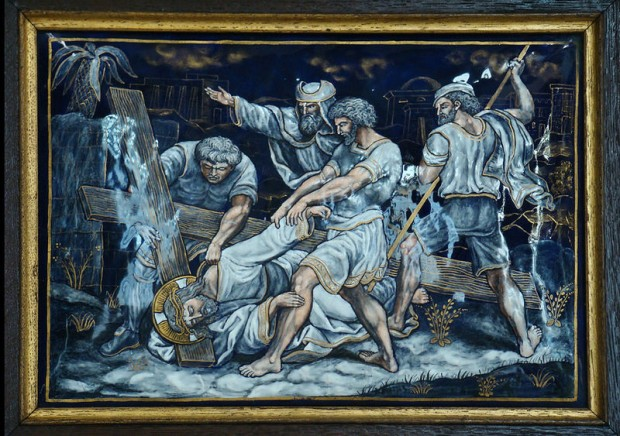 9: Jezus valt voor de derde keer