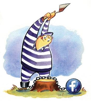facebook vasten