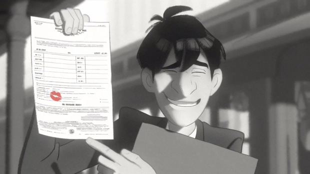 Paperman - Disney short