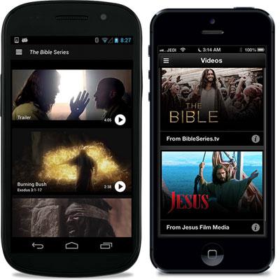 De Bijbel App met videos