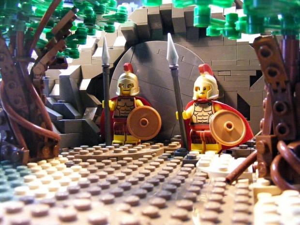 De opstanding (in LEGO)