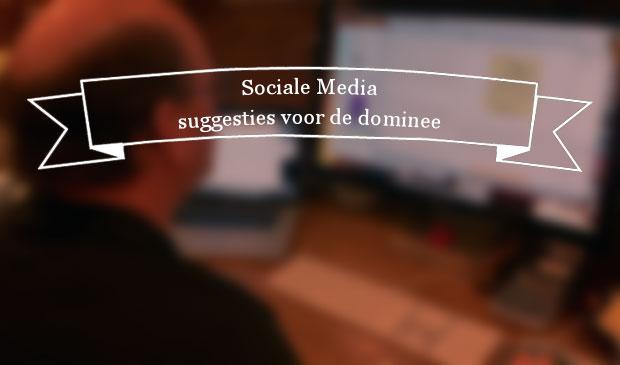 sociale media suggesties voor de dominee