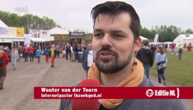 Wouter bij RTL Editie NL