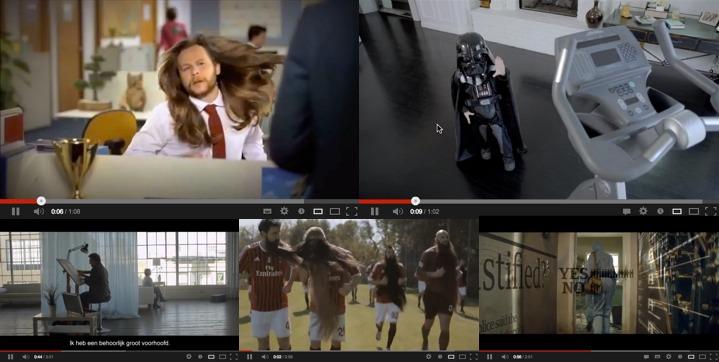 Verzamelde video's (commercials)