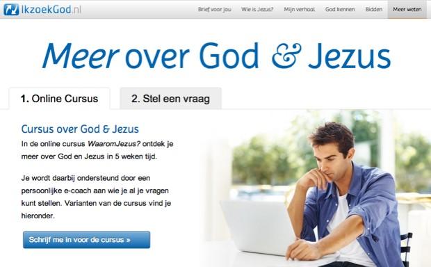 Meer weten over God & Jezus (ikzoekgod.nl)