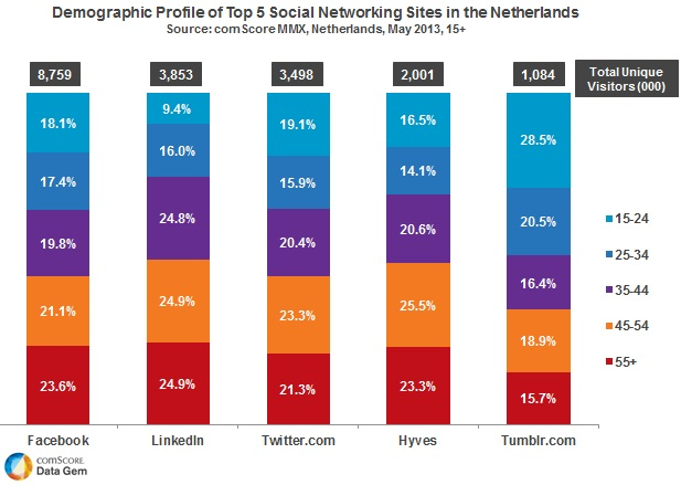 Social Networking Netherlands