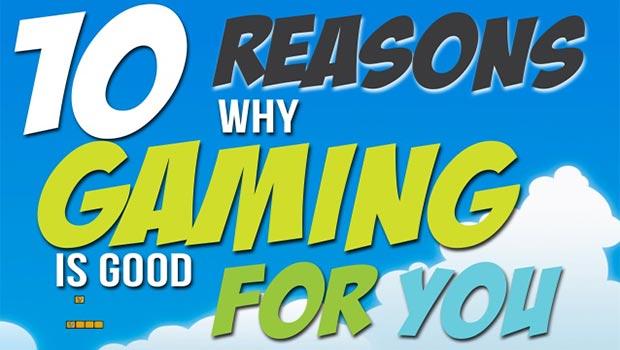 10 redenen waarom gamen goed voor je is