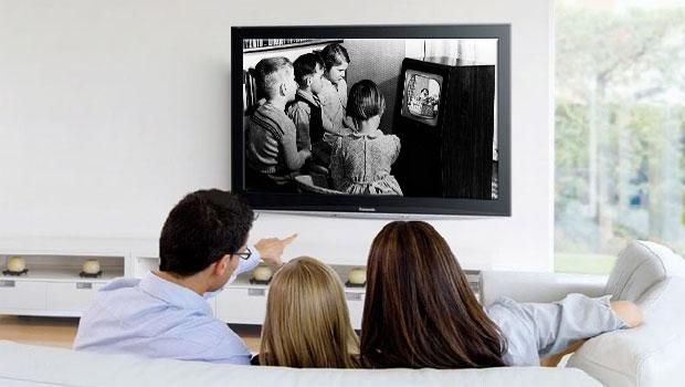 TV kijken als gezin