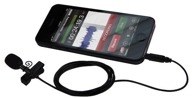 Rode smartLav Reversmicrofoon