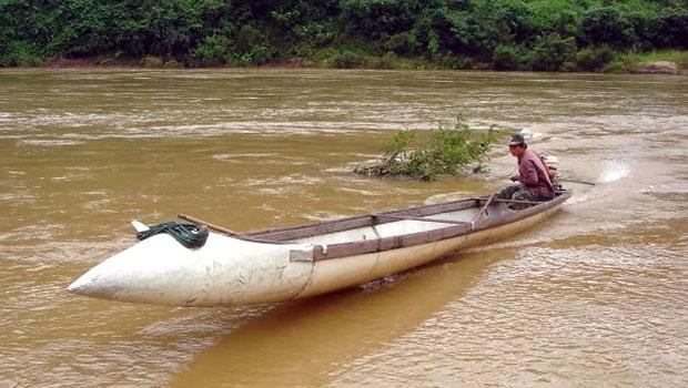 boot van brandstoftank in vietnam