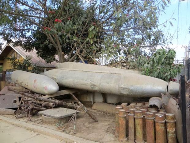 oorlogsafval in vietnam