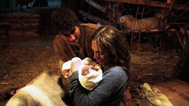 jozef en maria en kindje jezus
