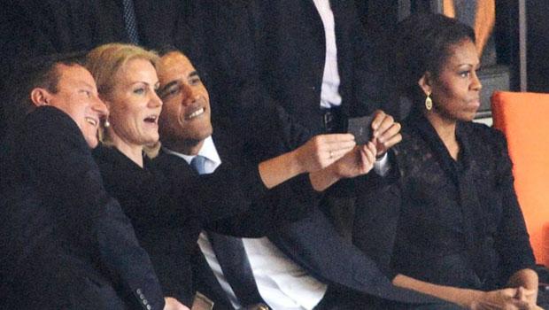 selfie obama