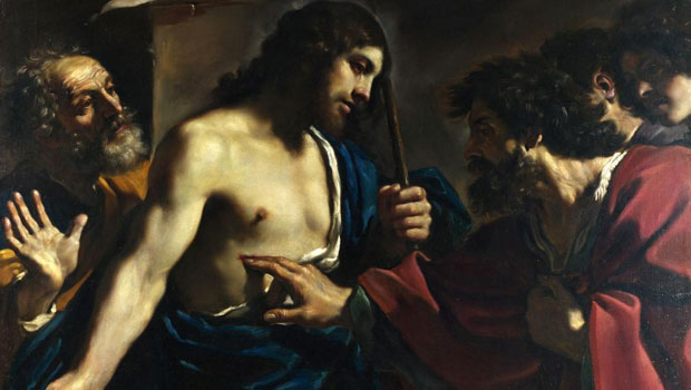 thomas en jezus