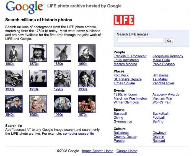 Google LIFE