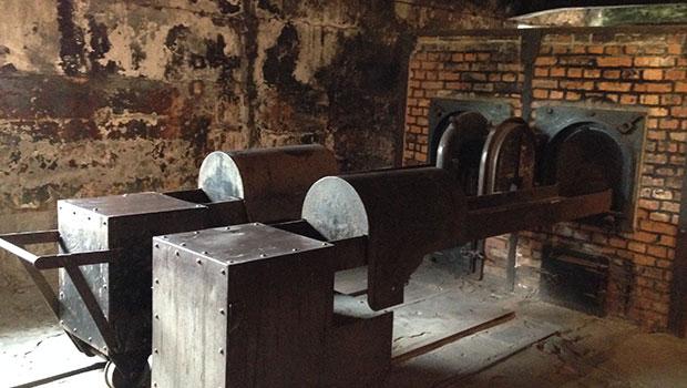 crematoria in Auschwitz kamp 1