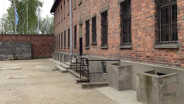 Auschwitz, executieplaats in kamp 1