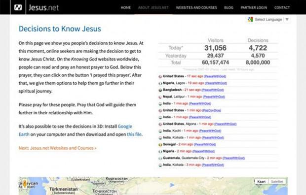 jesus.net-8miljoen-gebeden